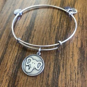 Alex and Ani silver Elephant Bracelet